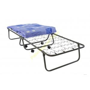 Кровать раскладная на опорах на пружине змейка