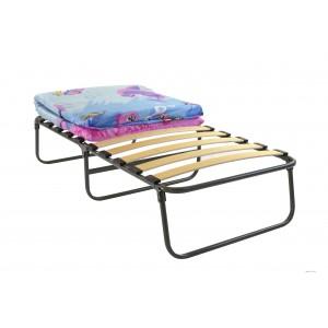 Кровать раскладная детская с матрасом на ламелях