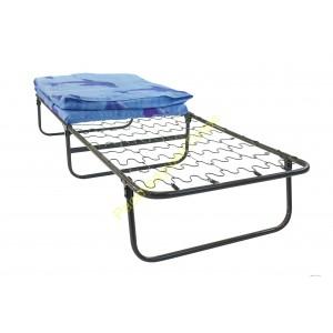 Кровать раскладная на змейке с матрасом шириной 80см