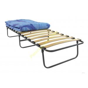 Кровать раскладная на ламелях с матрасом шириной 80см